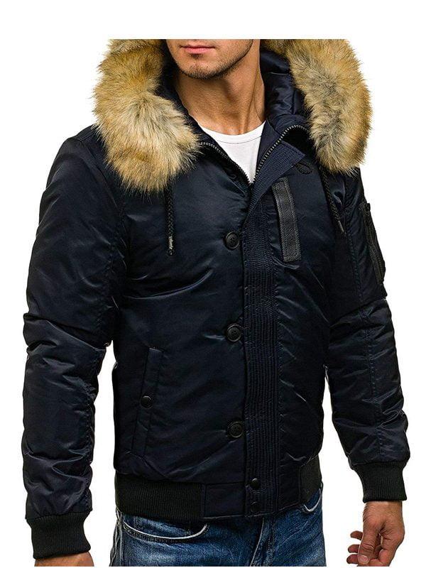 Men S Winter Parka Real Fur Jacket, Real Fur Coats Men